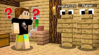Minecraft BUT HIDE AND SEEK Is CURSED!