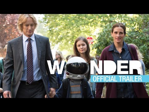 Wonder 2017 Movie Official Trailer Choosekind Julia Roberts