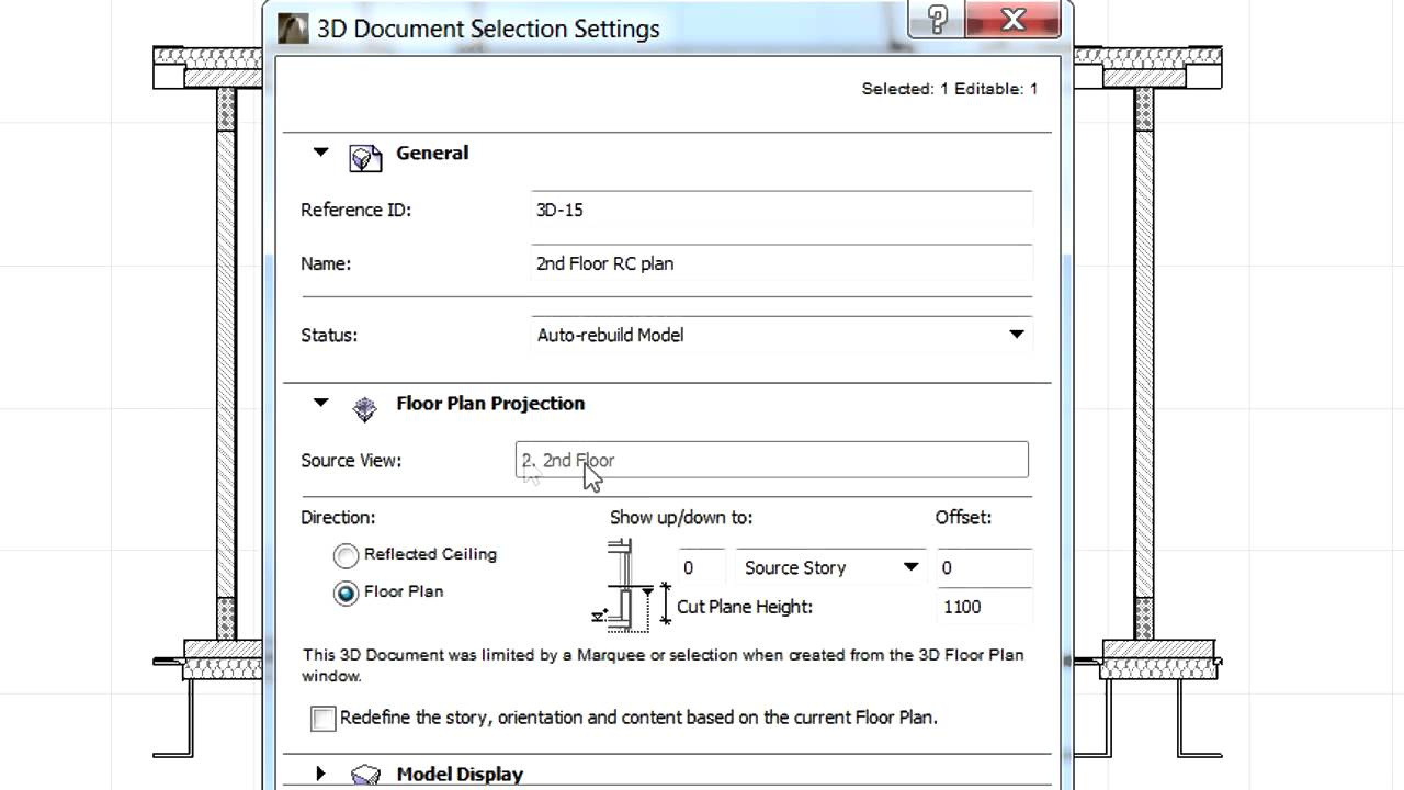 medium resolution of creating a reflected ceiling plan 3d document in archicad