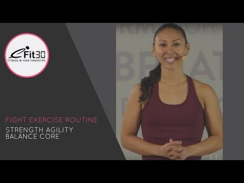 Fight Open - exercise class for women - Fighting - Sunshine - Fit Move123