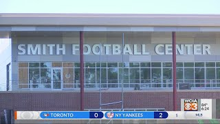 Smith Football Center nearing completion