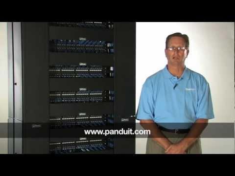 Panduit 2 Post Standard Equipment Rack