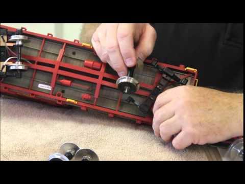 Installing Ball Bearing Wheels