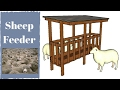 Sheep Feeder Plans