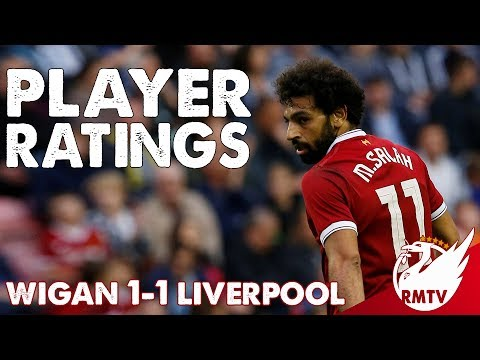 Salah Gets an 8! | Wigan v Liverpool 1-1 | Player Ratings
