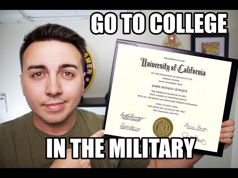 HOW I GOT MY DEGREE WHILE IN THE MILITARY FOR FREE?