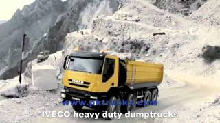 pktrucks Iveco heavy duty dumptruck in action
