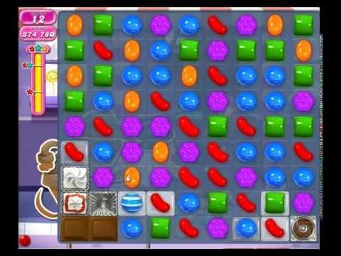 Candy Crush Saga Level 1268 - YOLO SOLUTION :)
