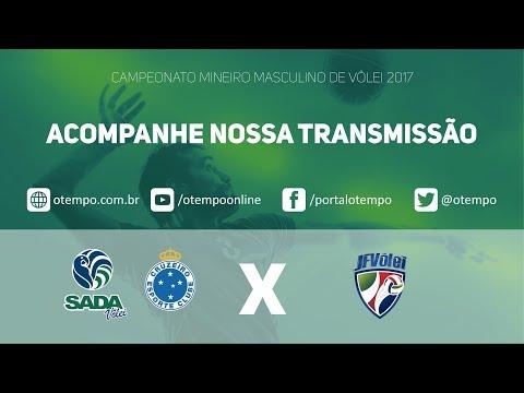 O Tempo mostra ao vivo o jogo entre Sada Cruzeiro e Juiz de Fora Vôlei pelo Mineiro de Vôlei