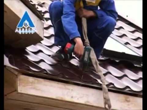 видео: Монтаж металлочерепицы своими руками