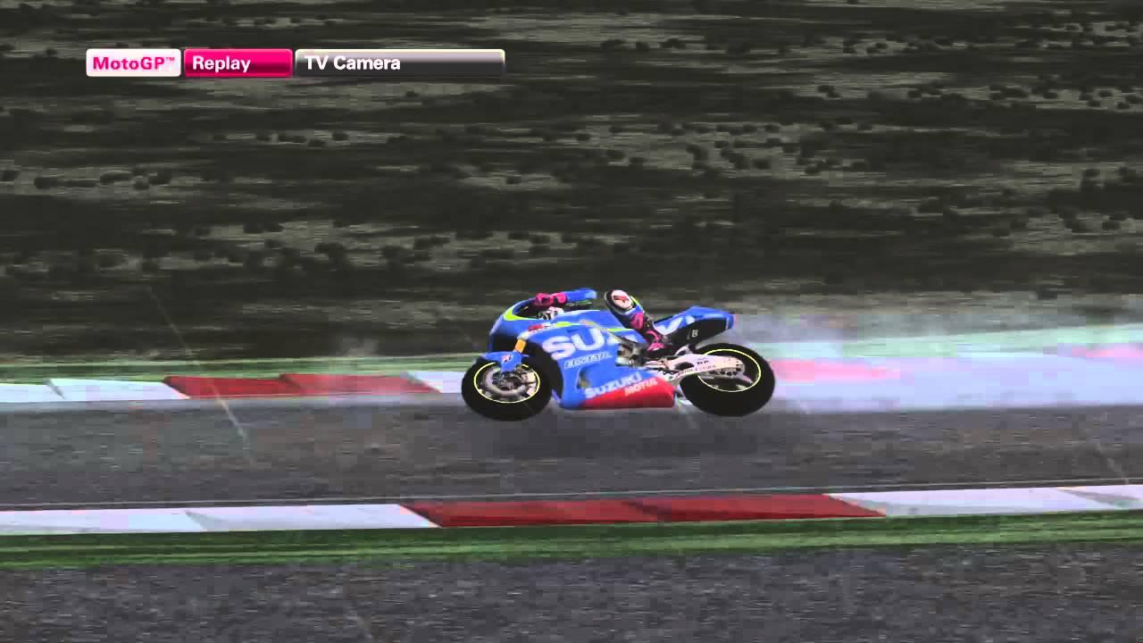 MotoGP 15 Champion mode rain 10lap #2 - YouTube
