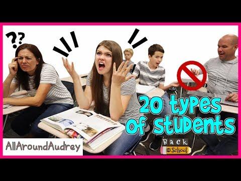 20 Types Of Students  Back To School  AllAroundAudrey