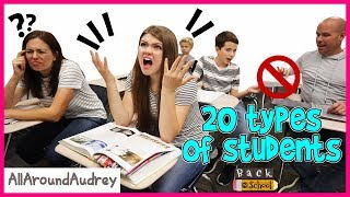 20 Types Of Students - Back To School / AllAroundAudrey