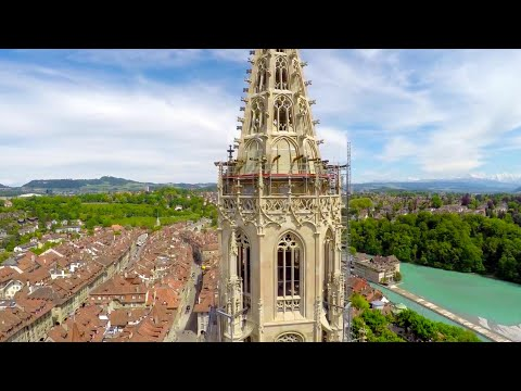 BERN, Switzerland Aerials - 4K UHD