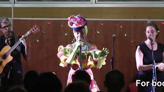 Elisete at Arad's Municipal Library - Samba do sofrer (Original song)
