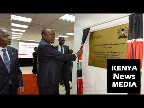 Uhuru Kenyatta officially launches KRA Revenue Tracking and Integrated Scanner Command Centre!!!