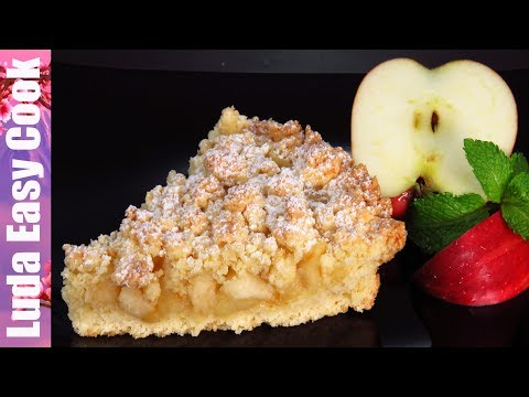 Как приготовить песочное тесто для пирога с яблоками