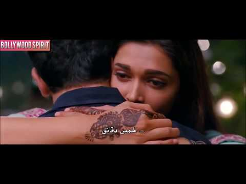 A romantic scene from a movie yeh jawaani hai deewani Between Deepika Padukone and Ranbir Kapoor‏