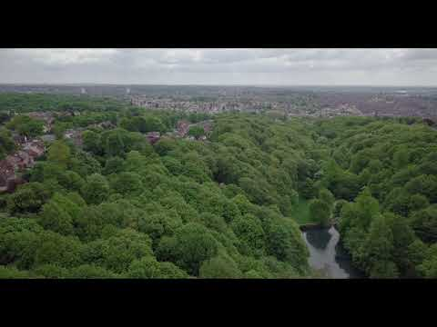 Gledhow Valley Woods, filmed in 4K with the Mavic Pro