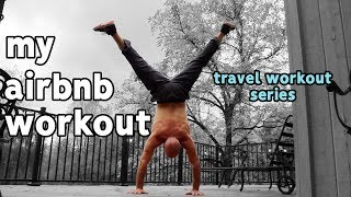 Gambar cover Road Trip Calisthenics Exercises | My Airbnb Workout