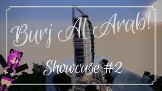 MINECRAFT | Burj Al Arab hotel showcase #2  [Interior]