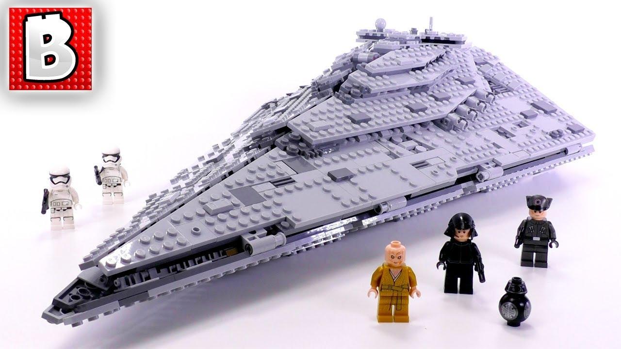 2017 LEGO 75190 FIRST ORDER STAR DESTROYER STAR WARS SET