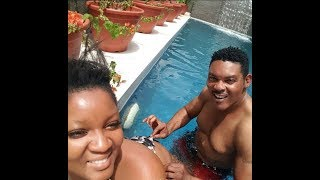 Omotola Jalade And Hubby Love Up in New Photos