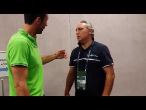 Reencuentro Buffon & Stoichkov