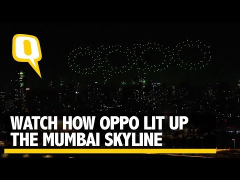 Partner | Watch How OPPO Lit Up The Mumbai Skyline | The Qui