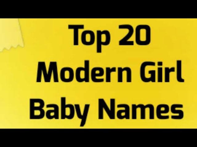 2 48 MB] Top 20 Unique Rare Modern Hindu Indian Girl Baby