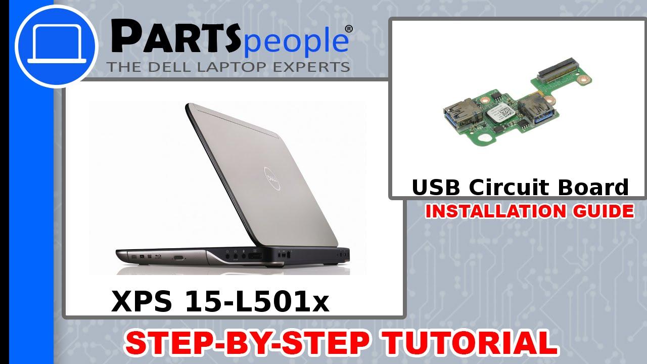 DELL XPS L501X USB DRIVER UPDATE