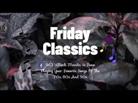 Friday Classics on 96.3 WRock Manila
