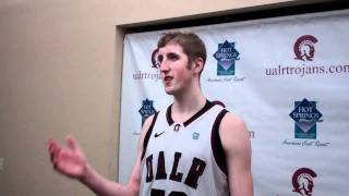 UALR MBB Will Neighbour Talks About 78-64 Win Over FIU