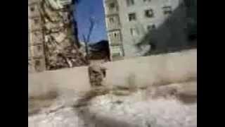 В Астрахани взорвался жилой дом и обрушился подъезд