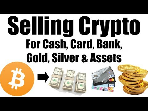 Transfer From Crypto to Cash, Card, Bank, Gold, Silver & Ass