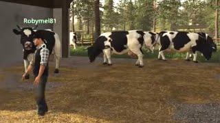 #53 - COMPRIAMO LE MUCCHE w/Robymel81 -  FARMING SIMULATOR 19 ITA RUSTIC ACRES