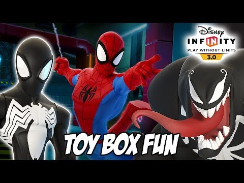 ultimate-spiderman-disney-infinity-3.0-toy-box-fun-gameplay-compilation