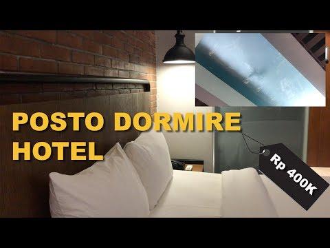 Hotel di Grogol Punya Kolam Renang Transparan (Review Posto Dormire Hotel) #APPVLOG15