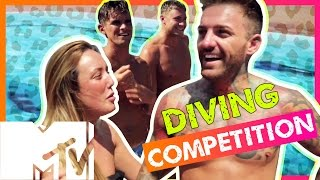 Geordie Shore Season 11 | Diving Competition! | MTV