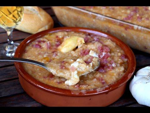 Sopa castellana o sopas de ajo en menos de 10 minutos - Sopa castellana youtube ...