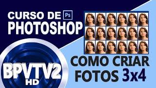 Como criar fotos 3x4 no Photoshop