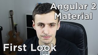 angular 2 material first look