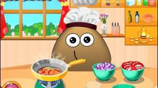 Мультик игра Уроки кулинарии от Поу (Pou Cooking lesson)(, 2016-01-19T10:41:56.000Z)