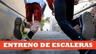 Entreno de escaleras paso a paso | Ibon Zugasti