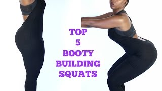 5 Best Booty Building Squats   More Energy w/ Click Active