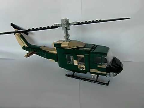 "Lego Custom Review -UH-1 ""Bell Huey""- - YouTube"