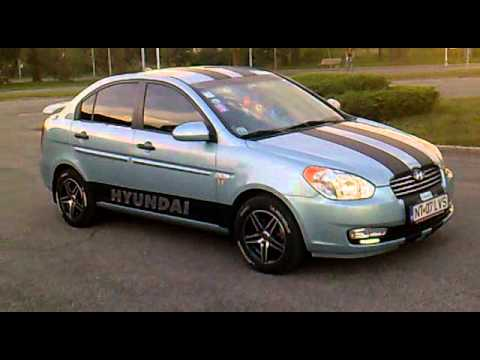Tuning Hyundai Accent 2009 Youtube