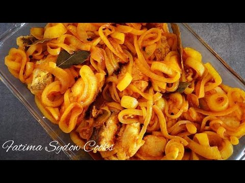 HOW TO MAKE PICKLED FISH
