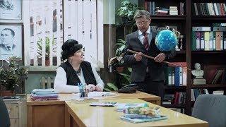 Учителя пришли к директору школы за увеличительными приборами Родительское собрание Дизель Студио