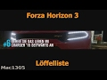 Forza Horizon 3, Löffelliste #6
